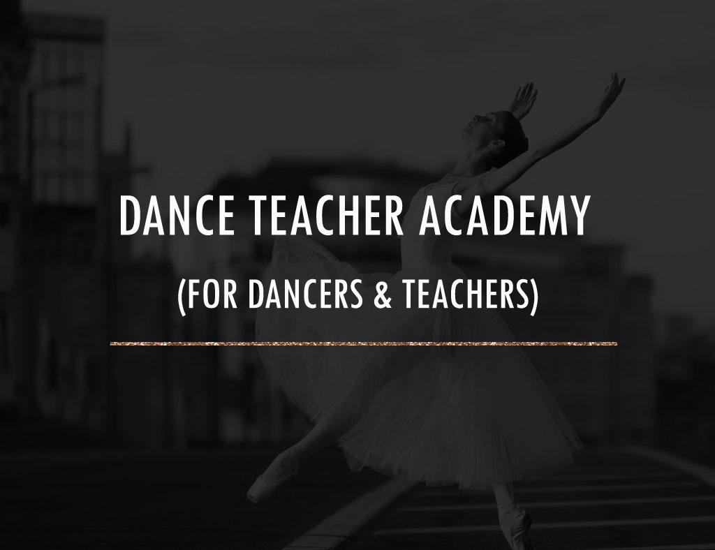 Dance Training Program for dancers and teachers